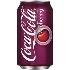 Cherry Coke 12oz. cans 24 per case