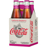 Coke California Raspberry 12oz. glass bottles 24 per case