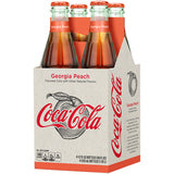 Coke Georgia Peach 12oz. glass bottles 24 per case