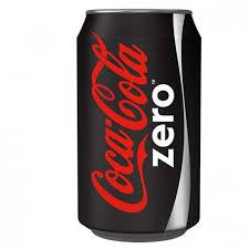 Coke Zero 12oz. cans 24 per case