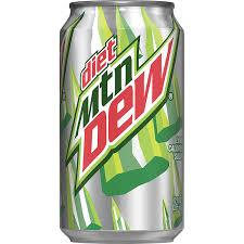 Diet Dew 12oz. cans 24 per case