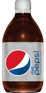Diet Pepsi 10oz. glass bottles 24 per case