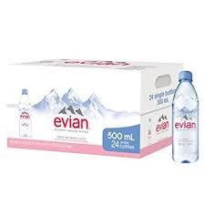Evian Water 16.9oz. bottles 24 per case