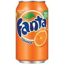 Fanta Orange 12oz. cans 24 per case