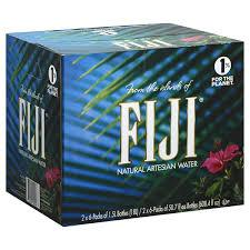 Fiji Water 1.5 Liter bottles 12 per case