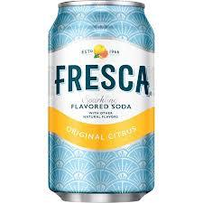 Fresca 12oz. cans 24 per case