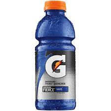 Gatorade Fierce Grape 20oz. bottles 24 per case