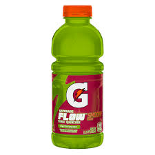 Gatorade Flow Kiwi Strawberry 20oz. bottles 24 per case