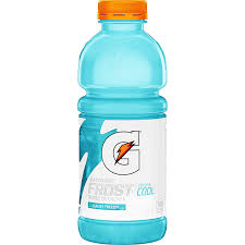 Gatorade Frost Glacier Freeze 20oz. bottles 24 per case
