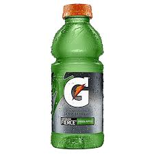 Gatorade Fierce Green Apple 20oz. bottles 24 per case