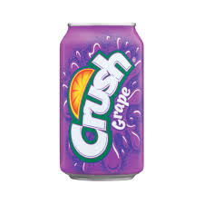Grape Crush 12oz. cans 24 per case