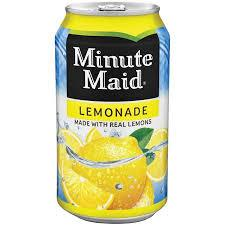 Minute Maid Lemonade 12oz. cans 24 per case