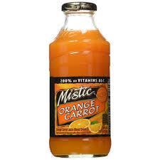 Mistic Orange Carrot 16oz. bottles 24 per case