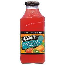 Mistic Tropical Carrot 16oz. bottles 24 per case