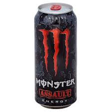 Monster Energy Assault 16oz. cans 24 per case