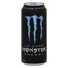 Monster Energy Lo-Carb 16oz. cans 24 per case
