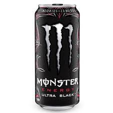 Monster Energy Ultra Black 16oz. cans 24 per case