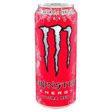 Monster Energy Ultra Red 16oz. cans 24 per case