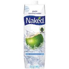 Naked Organic Coconut Water 1 Liter cartons 12 per case