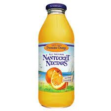 Nantucket Nectars Premium Orange 16oz. bottles 24 per case