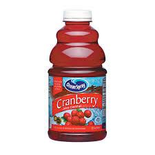 Ocean Spray Cranberry Juice 32oz. bottles 12 per case