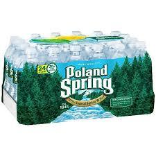 Poland Spring 16.9oz. bottles 24 per case