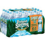 Poland Spring Sport Top 24oz. bottles 24 per case