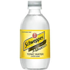 Schweppes Tonic Water 10oz. glass bottles 24 per case
