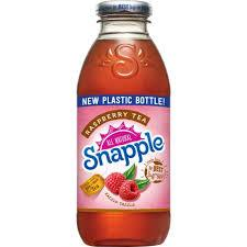 Snapple Raspberry Tea 16oz. bottles 24 per case