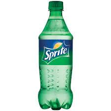 Sprite 20oz. bottles 24 per case