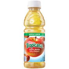 Tropicana Apple Juice 10oz. bottle 24 per case