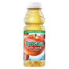 Tropicana Apple Juice 15.2oz. bottle 24 per case
