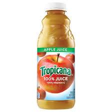 Tropicana Apple Juice 32oz. bottle 12 per case