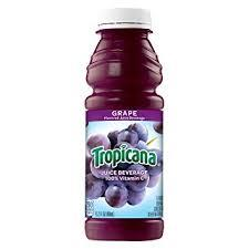 Tropicana Grape Juice 15.2oz. bottle 24 per case