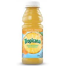 Tropicana Pineapple Orange Juice 15.2oz. bottle 24 per case