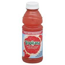 Tropicana Ruby Red Grapefruit Juice 15.2oz. bottle 24 per case