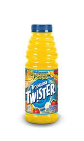 Tropicana Twister Orange Strawberry Banana 20oz. bottles 24 per case