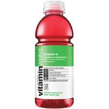 Vitamin Water Breeze-E 20oz. bottles 24 per case