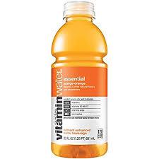 Vitamin Water Essential 20oz. bottles 24 per case