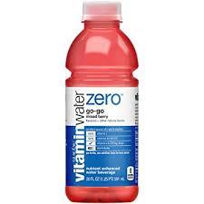 Vitamin Water ZERO Go-Go 20oz. bottles 24 per case