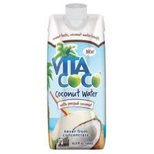 Vita Coco Coconut Water Extra Coconut 16.9oz. cartons 12 per case