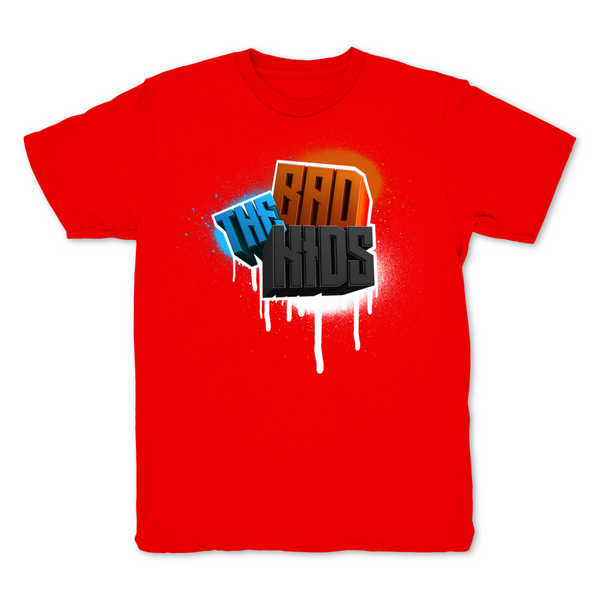 The Bad Kids Red T shirt