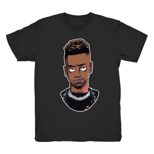 ICED OUT Funnymike Black Graphic T Shirt LIMITED EDITION