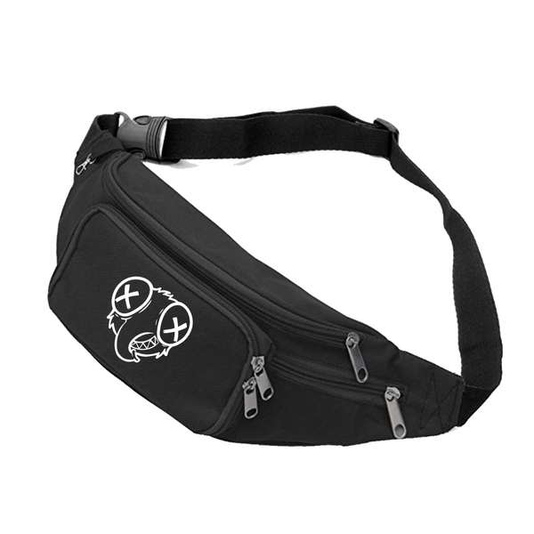Stoopid fly Black Fanny pack