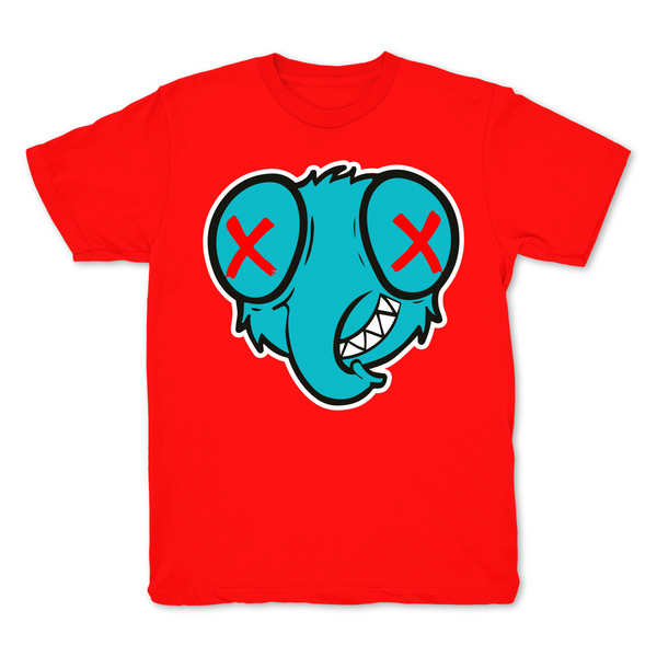 Stoopidfly Red Graphic T shirt