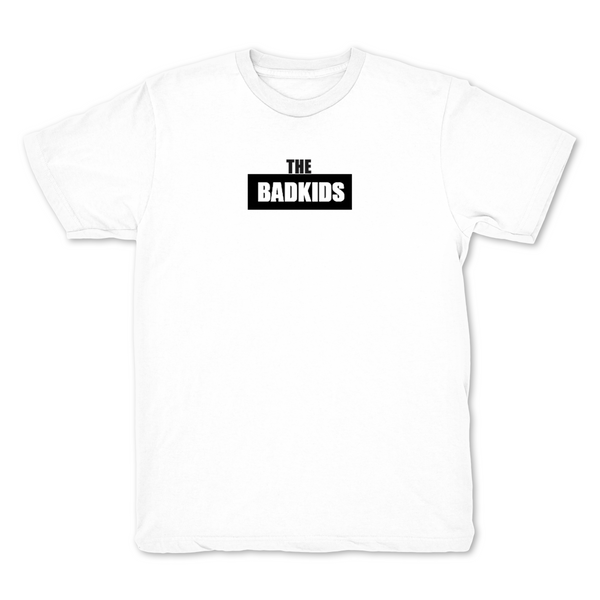 The Bad Kids Chest Print White T shirt