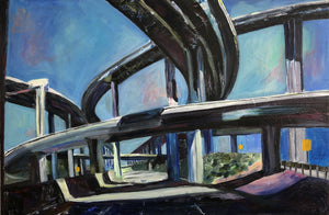 Interchange 24 x 36 in.