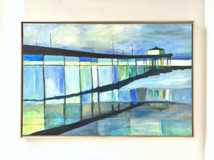 Manhattan Beach Pier 24 x 36 in. SOLD