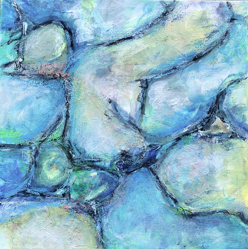 Rock Pool 12 x 12 in.