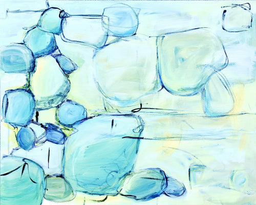 Sea Glass 24 x 30in.